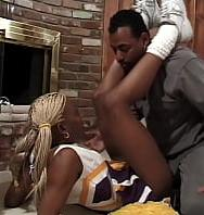 Ebony Cheerleaders #3anyone With A Taste For Hot Black Cheerleaders Will Love This Clip - PelisXXX.me